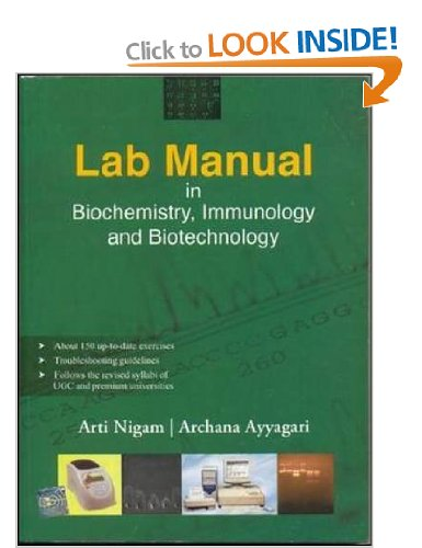 lab manual in biochemistry immunology and biotechnology books and rh gate2biotech com biochemistry laboratory manual biochemistry practical manual for medical students pdf
